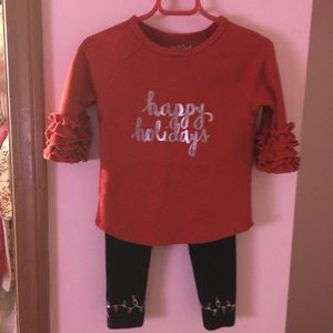 Other - Holiday outfit toddler 3T